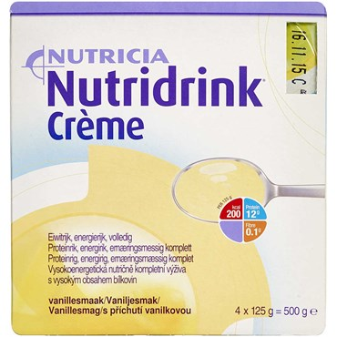 Image of   Nutridrink Creme Vanille 4 x 125 g