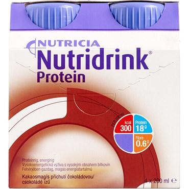 Image of   Nutridrink Protein Chokolade 4 x 200 ml