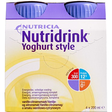 Image of   Nutridrink Yoghurt Style Vanille 4 x 200 ml