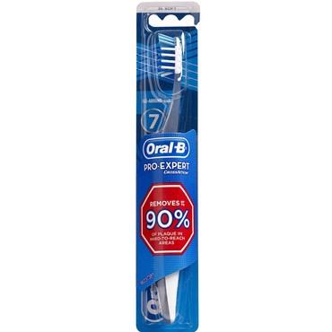 Image of   Oral-B Cross Complete tandbørste assorteret farver 1 stk