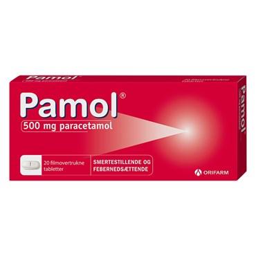 Pamol 20 stk Filmovertrukne tabletter thumbnail