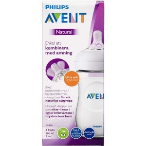 Philips avent natu suttefl.v2 260 ml thumbnail