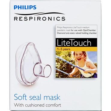 Philips Respironics LiteTouch MEDIUM mask 1-5 år. 1 stk thumbnail