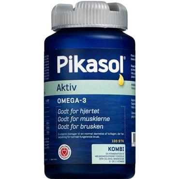 Image of   Pikasol Aktiv fiskeolie 100 stk