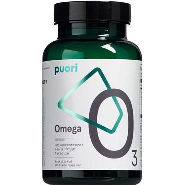 Image of   Puori o3 omega-3 kaps 60 stk