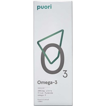 Image of   Puori Omega-3 flydende 150 ml