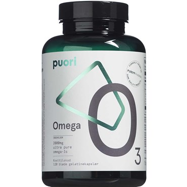 Image of   Puori Omega O3 kapsler 120 stk