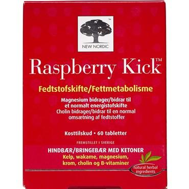 Billede af New Nordic, Raspberry Kick Tabletter 60 stk
