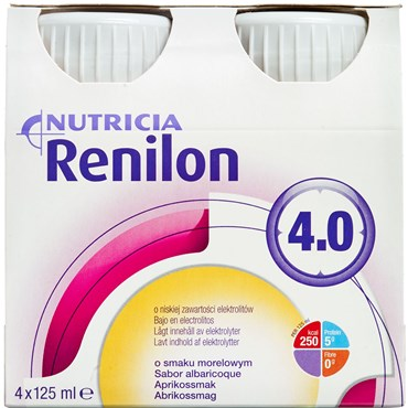 Image of   Renilon 4,0 Abrikos 4 x 125 ml