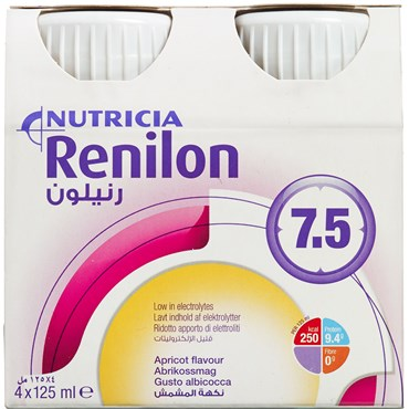 Image of   Renolin 7.5 Abrikos 4 x 125 ml