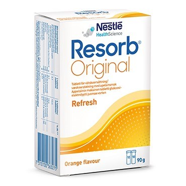 Resorb appelsin brusetablet
