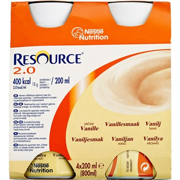 Image of   Resource 2.0 Mix 24 stk ? 200 ml