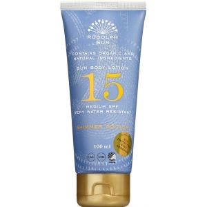 Image of   Rudolph Care Sun body lotion SPF 15 shimmer edition 100 ml