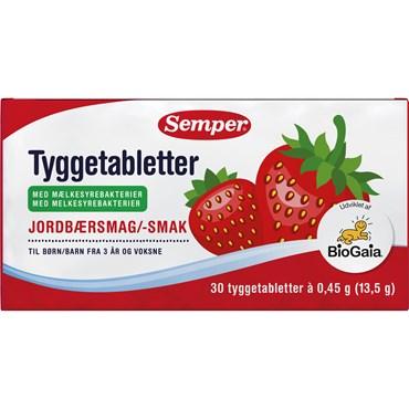 Semper BioGaia Tyggetabletter 30 stk thumbnail