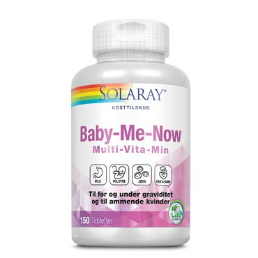 Solaray Baby-me-now tabletter