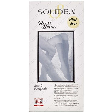 Solidea Knæ Relax unisex KL2 sort - large 1 stk thumbnail