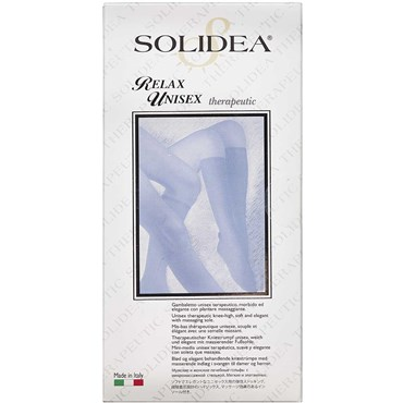 Solidea Knæ Relax unisex KL2 sort - small 1 stk thumbnail