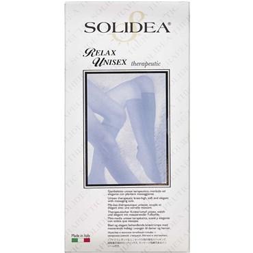 Solidea Knæ Relax unisex KL2 sort - small 1 stk thumbnail