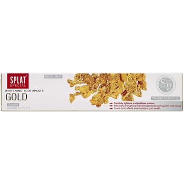 Splat tandpasta gold 1 stk thumbnail