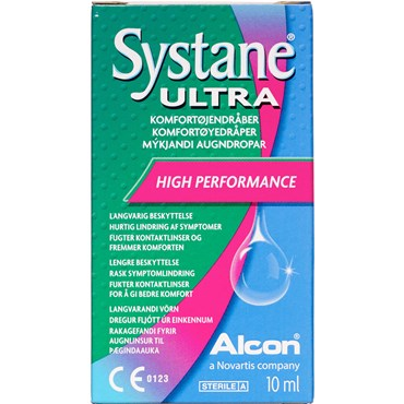 Systane Ultra Komfortøjendråber Medicinsk udstyr 10 ml thumbnail