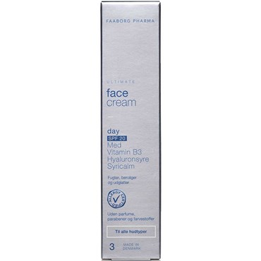 Ultimate face cream day spf20 50 ml thumbnail