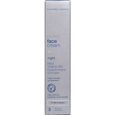 Ultimate Face Cream Night 50 ml thumbnail