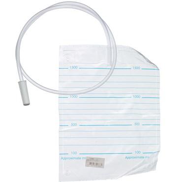 Urinpose 1,5 liter uden ventil 90 cm 1 stk thumbnail