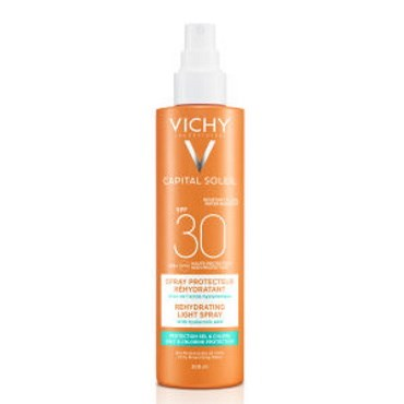 Image of   Vichy cap. sol. beach spray 200 ml