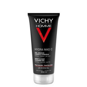 Vichy Homme Hydra Mag C Shower Gel 200 ml thumbnail