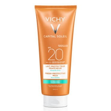 Image of   Vichy Ideal Capital Soleil Sollotion ansigt/krop SPF20 300 ml