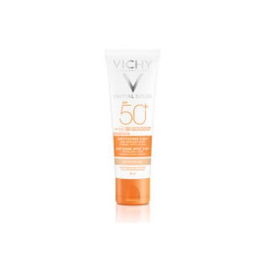 Image of   Vichy Ideal Soleil 3i1 Tinted Anti-Dark Spot creme 50+ 50 ml
