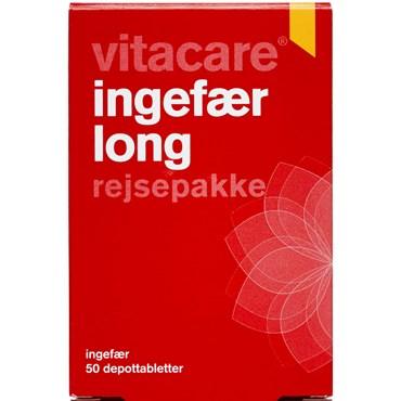 VitaCare Ingefær Long tabletter 50 stk thumbnail