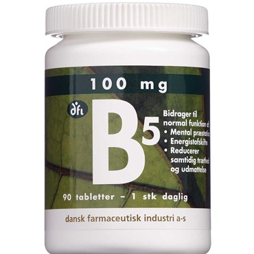 Vitamin B5 Tabletter 90 stk thumbnail