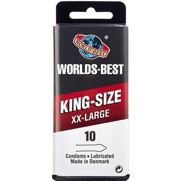 Worlds-Best King-Size XX-LARGE 10 stk thumbnail
